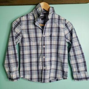 Johnnie-O boys size 8 oxford shirt